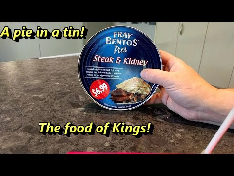 Fray Bentos Pie in a Tin in 4K!
