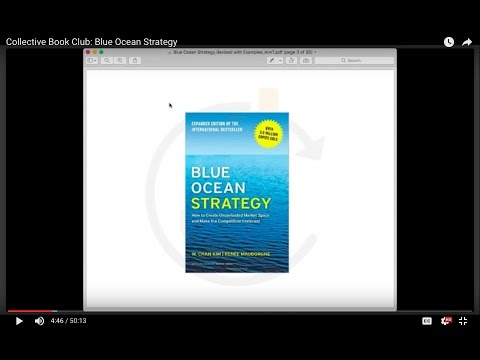 Collective Book Club: Blue Ocean Strategy