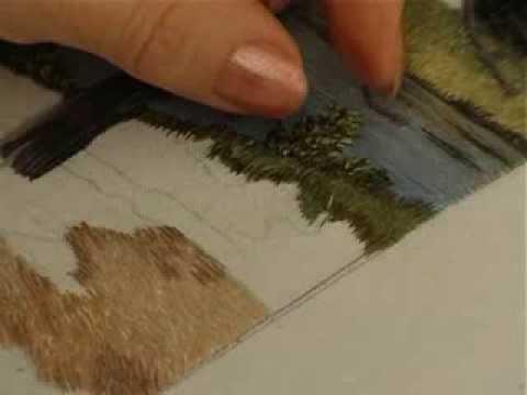 Вышивка ришелье картины