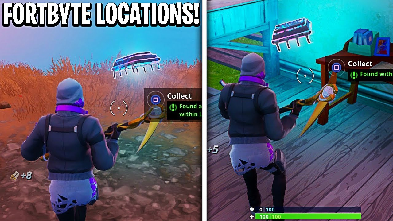 New Fortbyte Locations in Fortnite! All Hidden Fortbyte ...