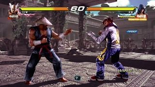 TEKKEN 7 (PS4) Treasure Battle Mode - Jin Tekken 4 Outfit Gameplay (1080p 60fps)