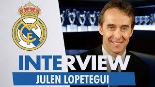 Exclusive Interview | JULEN LOPETEGUI | NEW Real Madrid Coach