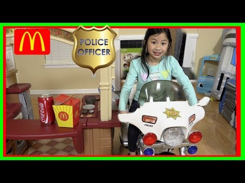 Pretend Play POLICE with Ryan's Toy Review inspired- I MAILED MYSELF to Ryan ToysReview and it WORK!