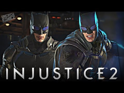 Thumbnail: Injustice 2 - Justice League Movie BATMAN Gear Gameplay!!