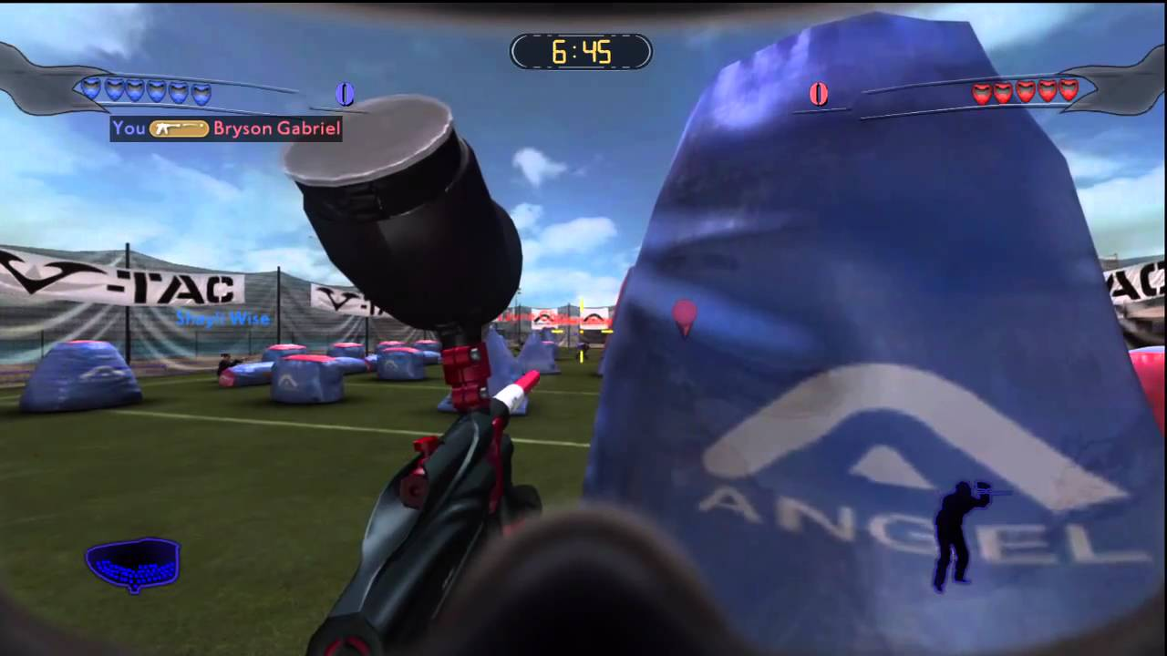 Paintball Games For Xbox 1 : Greg hastings paintball gameplay the valken
