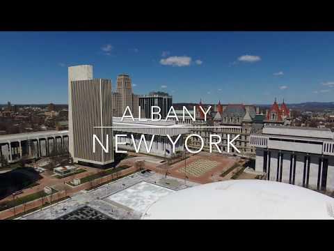 Albany, NY Aerial Footage