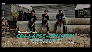 Collapse - Eminem | Dance Choreography |  Insomaniator Choreography ft. Poppin JRM & Vishal