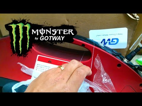 UNBOXING - THE MONSTER IS HERE UP TO 120 MILES RANGE  (A.K.A KING OF UNICYCLES BY GOTWAY)
