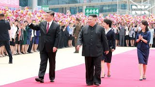 Chinese President Xi Jinping demonstrates strong alliance with N. Korea during his summit with Kim