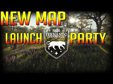 NEW MAP Parque Fernando is Live in theHunter Call of the Wild! Launch Party!