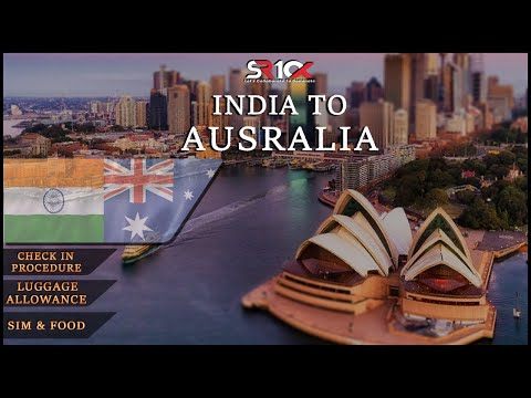From India To Australia, Delhi To Melbourne Airport Check-In Procedures Explained #VLOG1