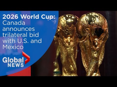 2026 FIFA World Cup: Canada officially announces support for bid (FULL press conference)