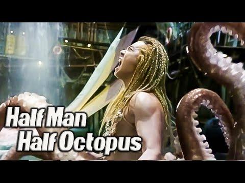 Half Man  Half Octopus l THE MERMAID  Stephen Chow Movie