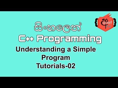 Java programming sinhala tutorials pdf files free.