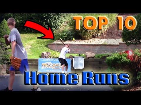 Top 10 Farthest Blitzball  / Wiffle Ball Homeruns!