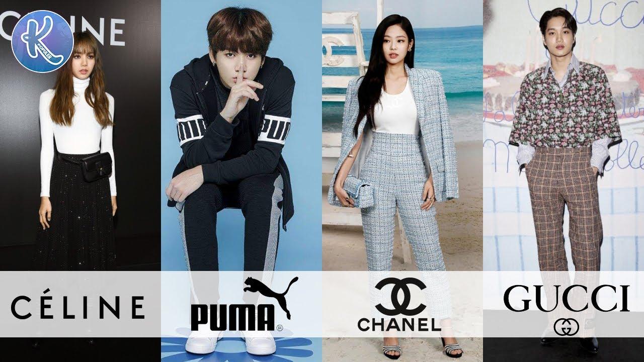 Semakin Melejit! 12 Idol Kpop yang Menjadi Brand Ambassador Brand Ternama Dunia