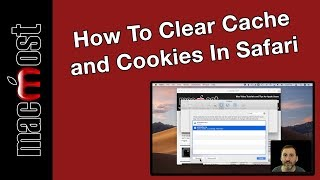 How To Clear Cache and Cookies In Safari (MacMost #1894)