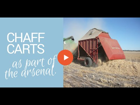 Chaff carts as part of the arsenal