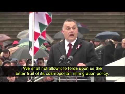 Viktor Orban's historic speech against Brussels, migrants and globalism