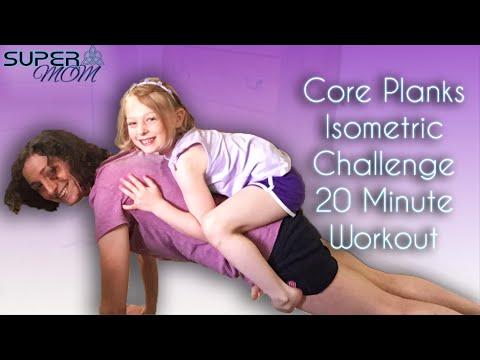 Core Planks Isometrics Challenge 20 Minute Workout SuperMOM