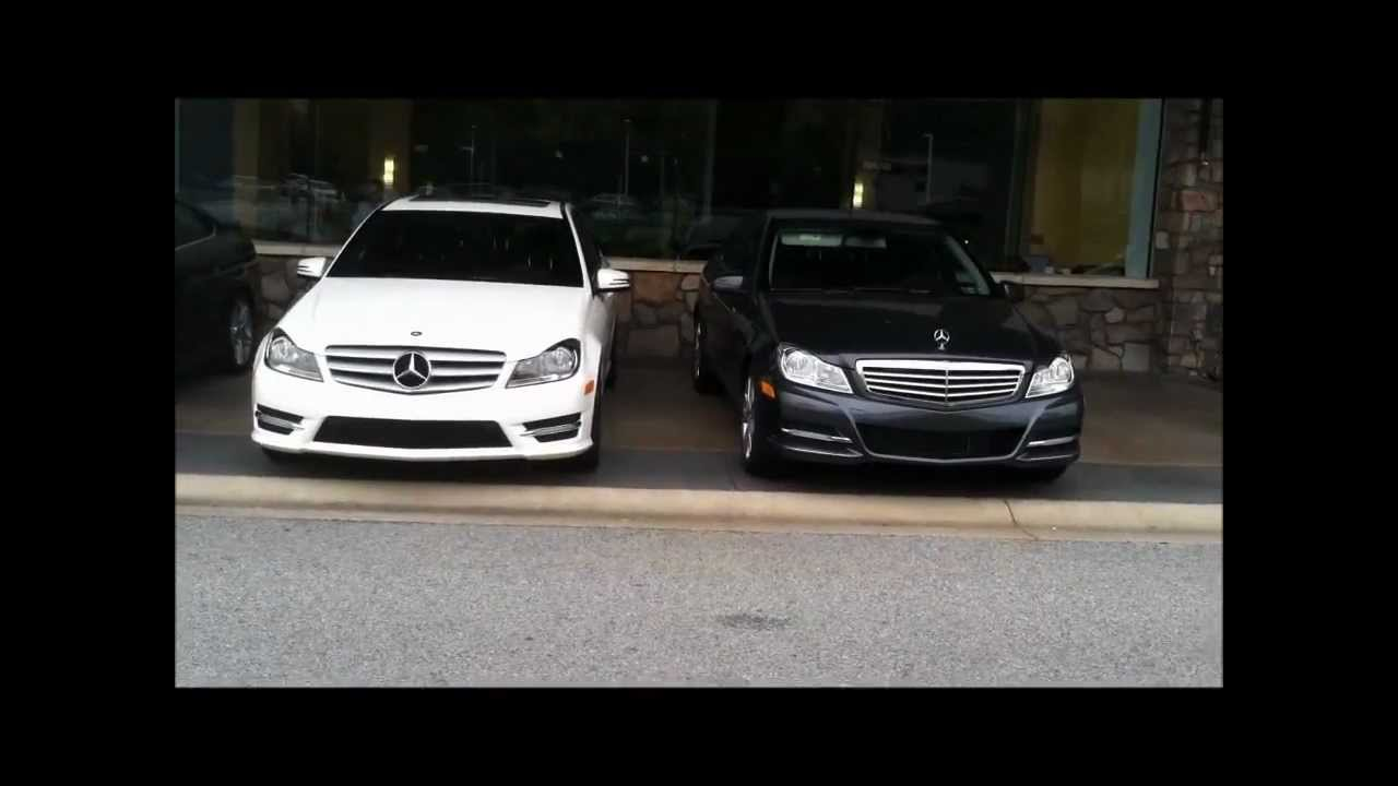 2013 C Class Sport C300 Vs Luxury C300 Youtube
