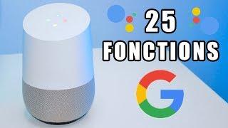 25 Fonctions de Google Home en Français !