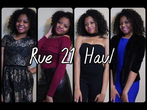 b39ce453584 Rue 21 Haul 2017 - Try On Haul - YouTube