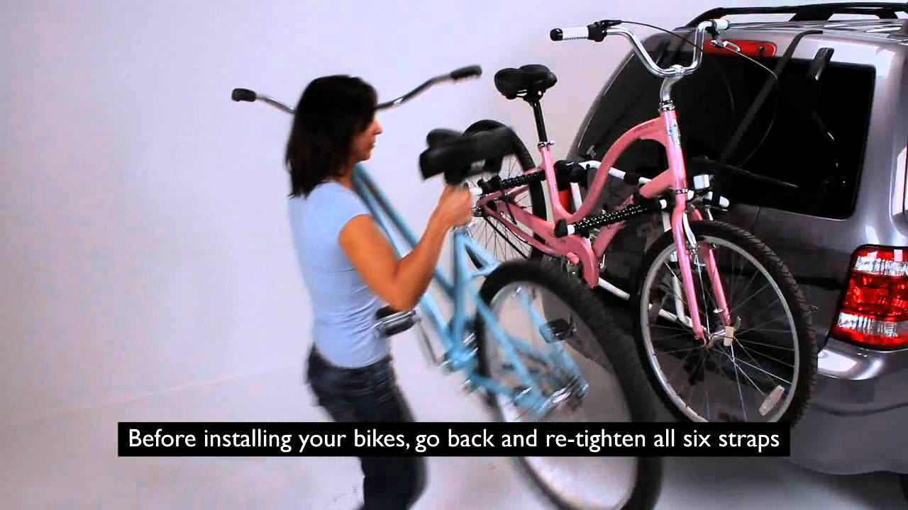 Hollywood Gordo Trunk Amp Hatchback Bike Rack Youtube