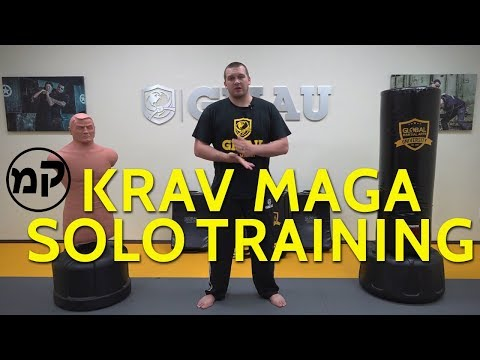 Krav Maga Solo Training Ideas