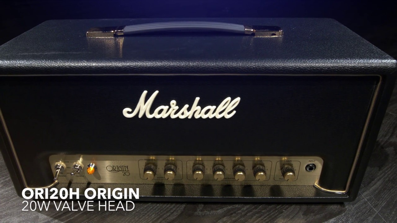 Marshall Ori20h Origin 20w Valve Head Gear4music Demo Youtube Power Tube Amplifier With El34