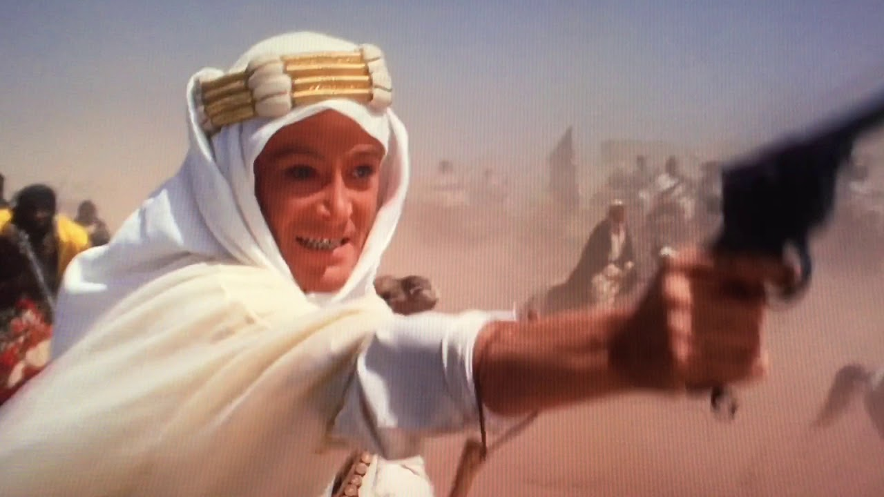 "Lawrence of Arabia- ""No Prisoners!!"" scene - YouTube"