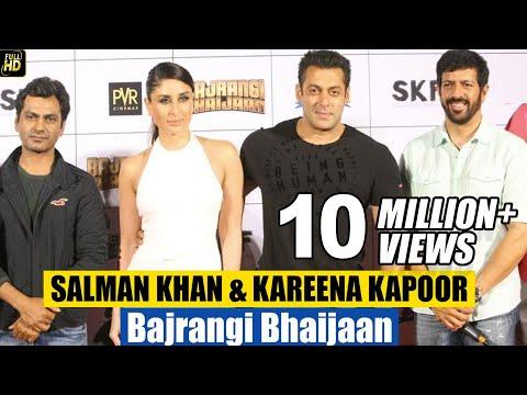 Bajrangi Bhaijaan Movie Promotions | Trailer & Music Launch | Salman Khan, Kareena Kapoor