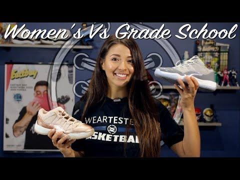 Air Jordan 11 Women's Vs Gradeschool | What's The Difference?