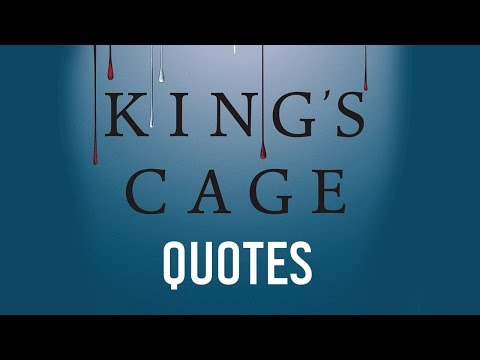 King's Cage Quotes | Red Queen Series by Victoria Aveyard