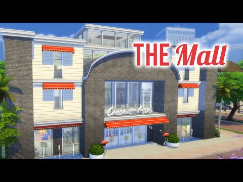 The Sims 4 Get to Work Speed Build — The Mall — Part 1