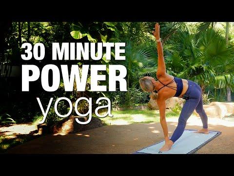 30 Minute Power Yoga Class - Five Parks Yoga