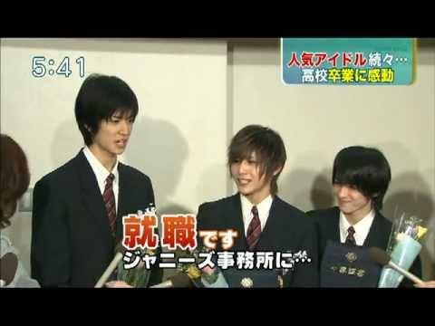[super news] 20120217 - yuto yamada chinen graduation