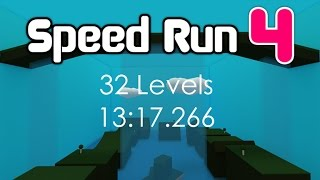 ROBLOX Speed Run 4 32 Levels in 13:17.266 [Former WR]