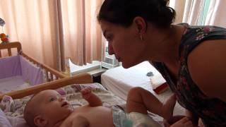 Noya Bommar - Good Morning Mommy - part 2 - 4 months old