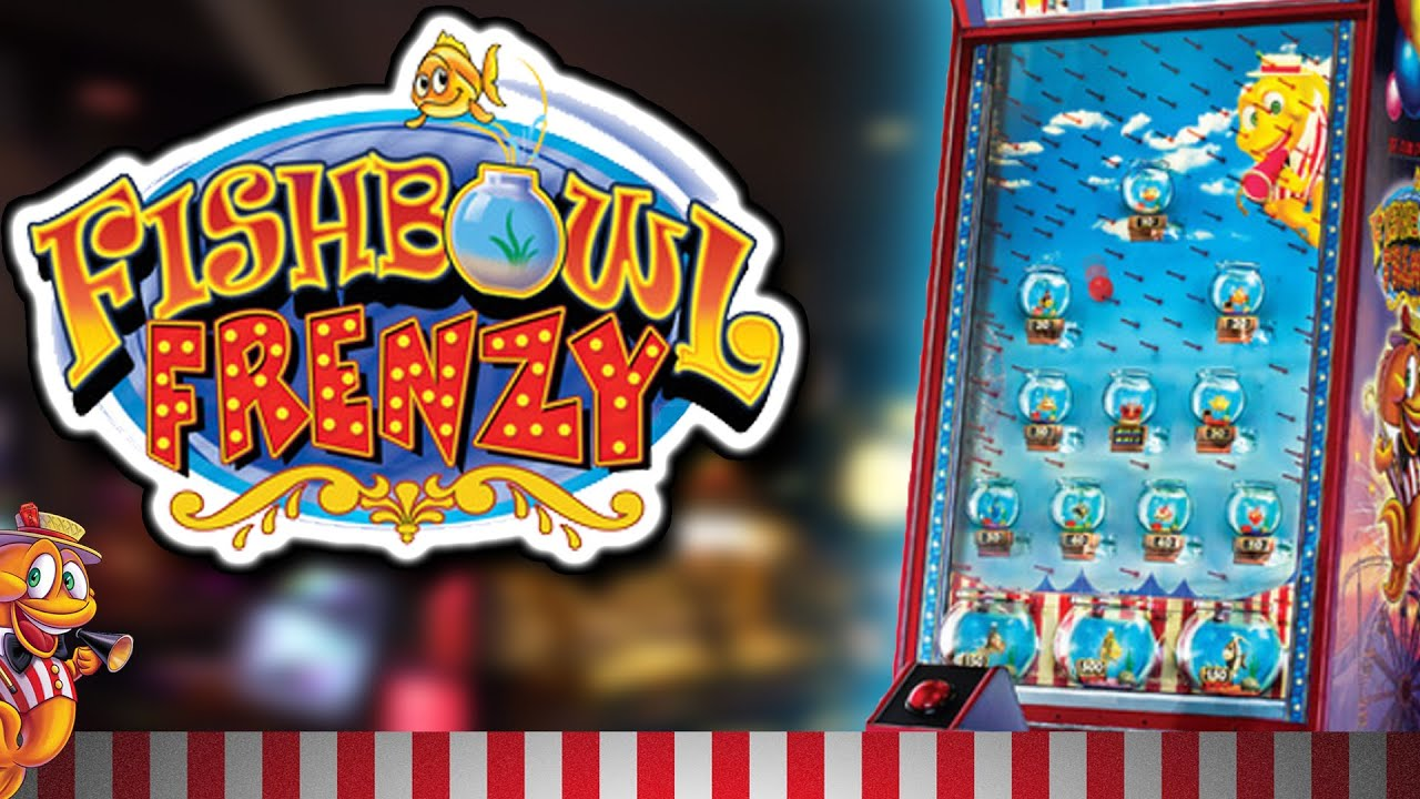 Fishbowl frenzy arcade ticket game youtube for Fish arcade game
