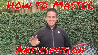 Tennis Lesson | How to Master Anticipation in Tennis | Cool Strategy! thumbnail