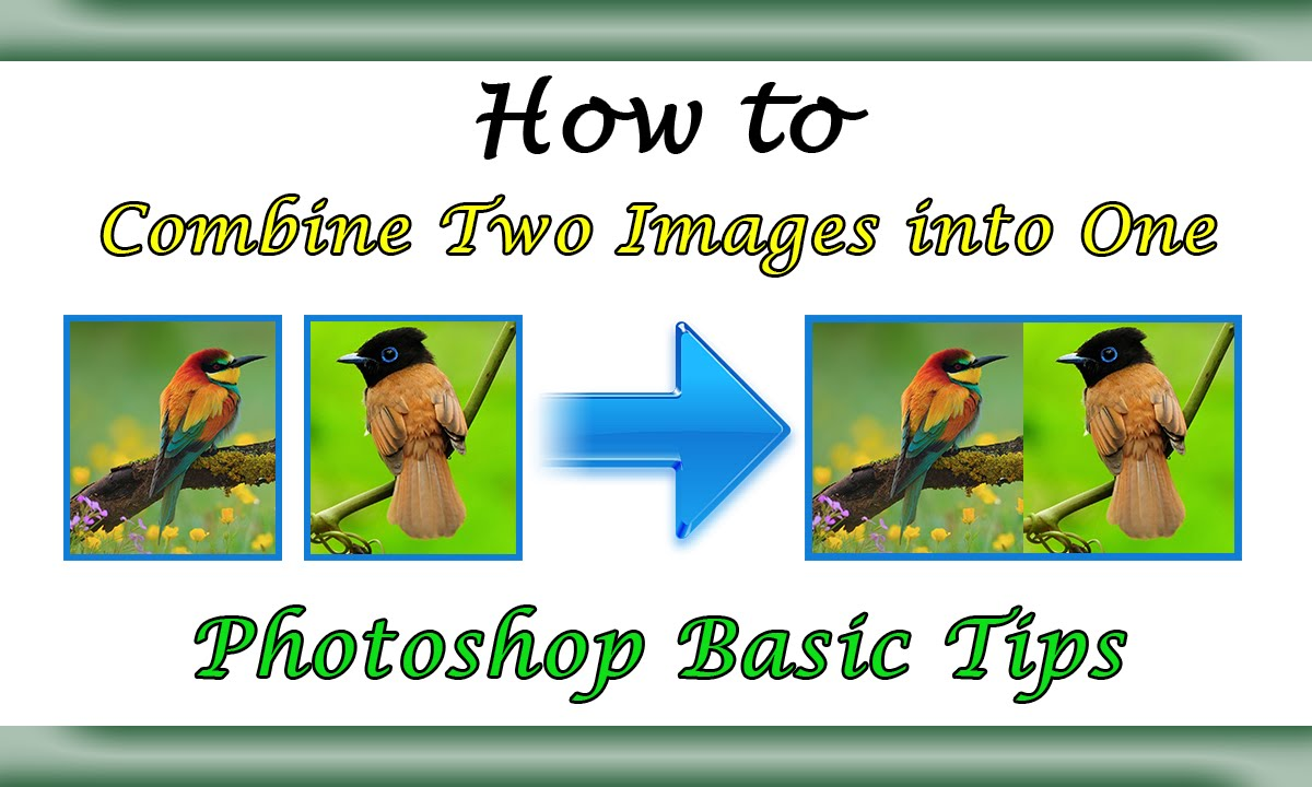 how to bring images into photoshop