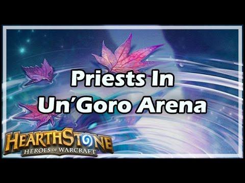 [Hearthstone] Priests In Un'Goro Arena