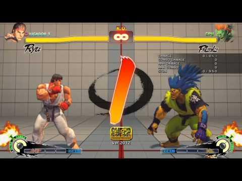 Super Street Fighter IV Arcade Edition para N00bs. Capítulo 1: Primeros pasos.