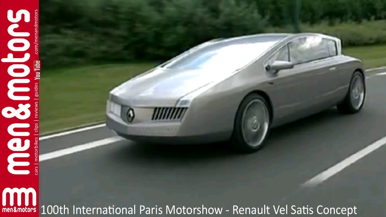 100th international paris motorshow renault vel satis concept youtube. Black Bedroom Furniture Sets. Home Design Ideas