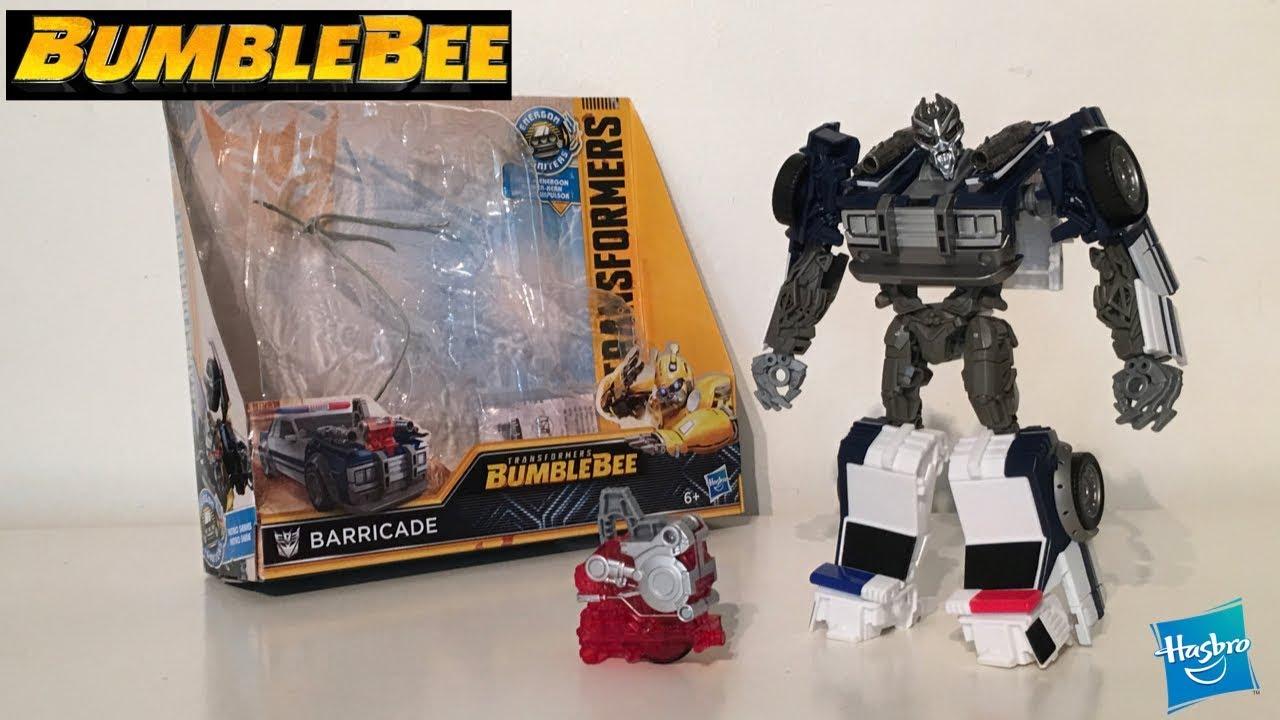e3383d1c485 Transformers Bumblebee: Energon Igniters Nitro Series Barricade ...