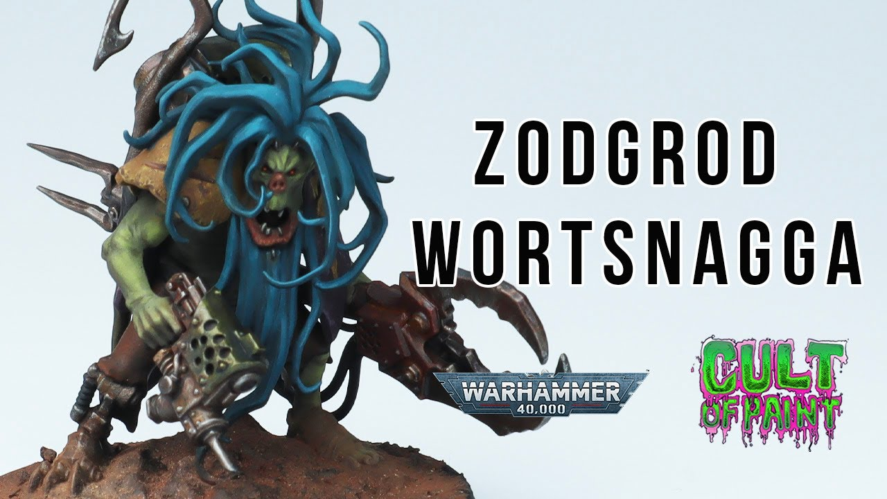 How to Paint Zodgrod Wortsnagga from the NEW Warhammer 40k Orks Beastsnaggas