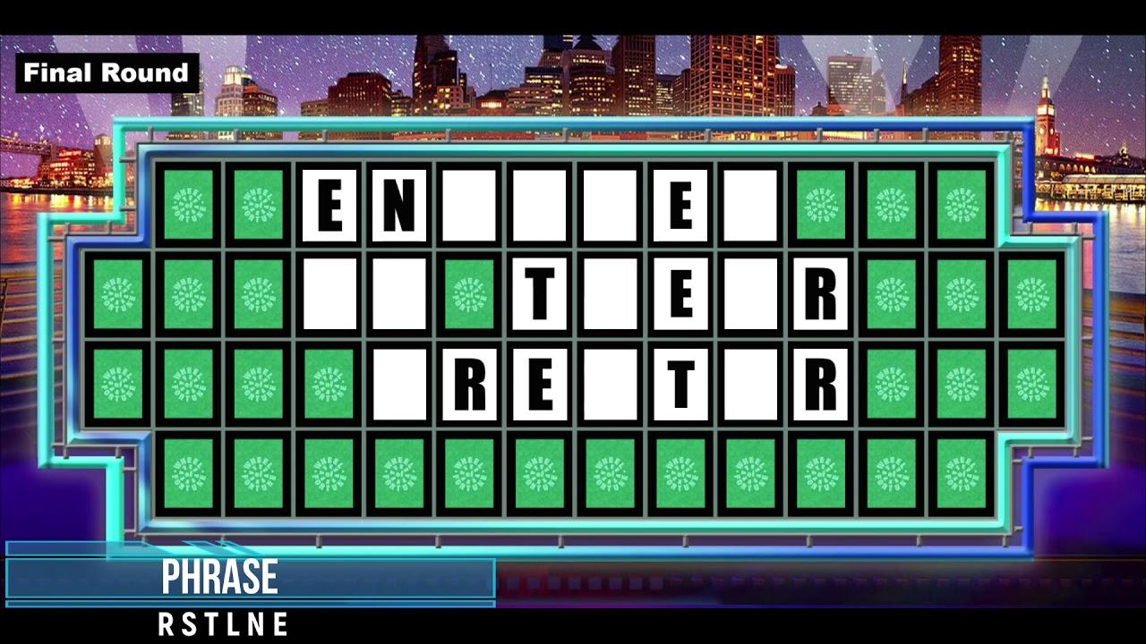 Joe Biden Plays Wheel of Fortune!