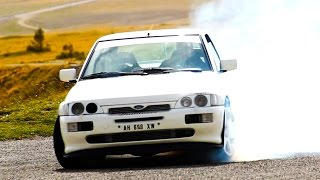 Ford Escort Cosworth 600cv - Davide Cironi Drive Experience (ENG.SUBS)