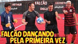 EU DESAFIO VOCE: GINGA vs FALCÃO! (Ele dançou) #4
